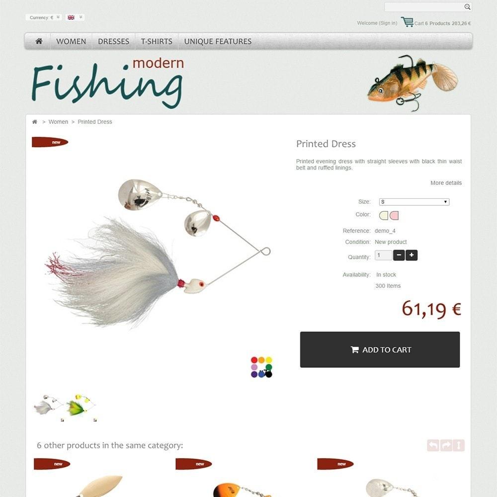 theme - Desporto, Actividades & Viagens - Modern Fishing - 4