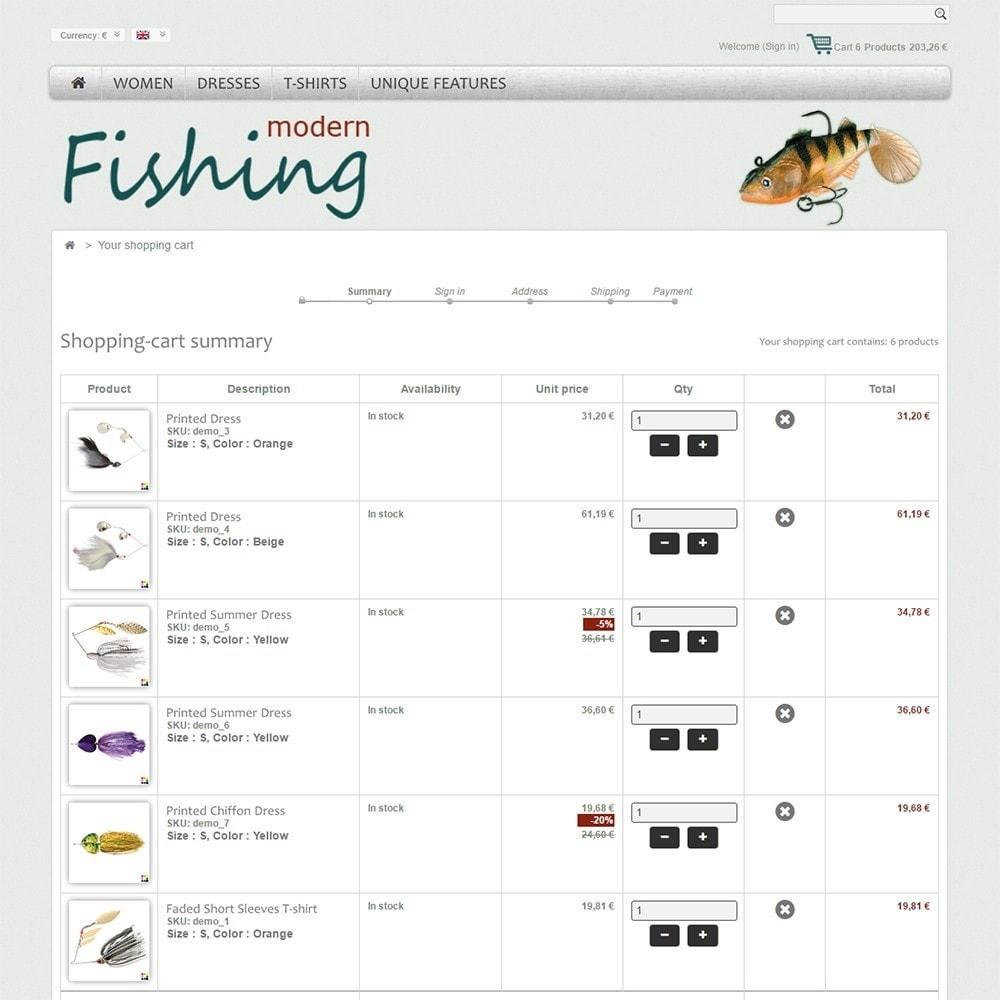 theme - Спорт и Путешествия - Modern Fishing - 5