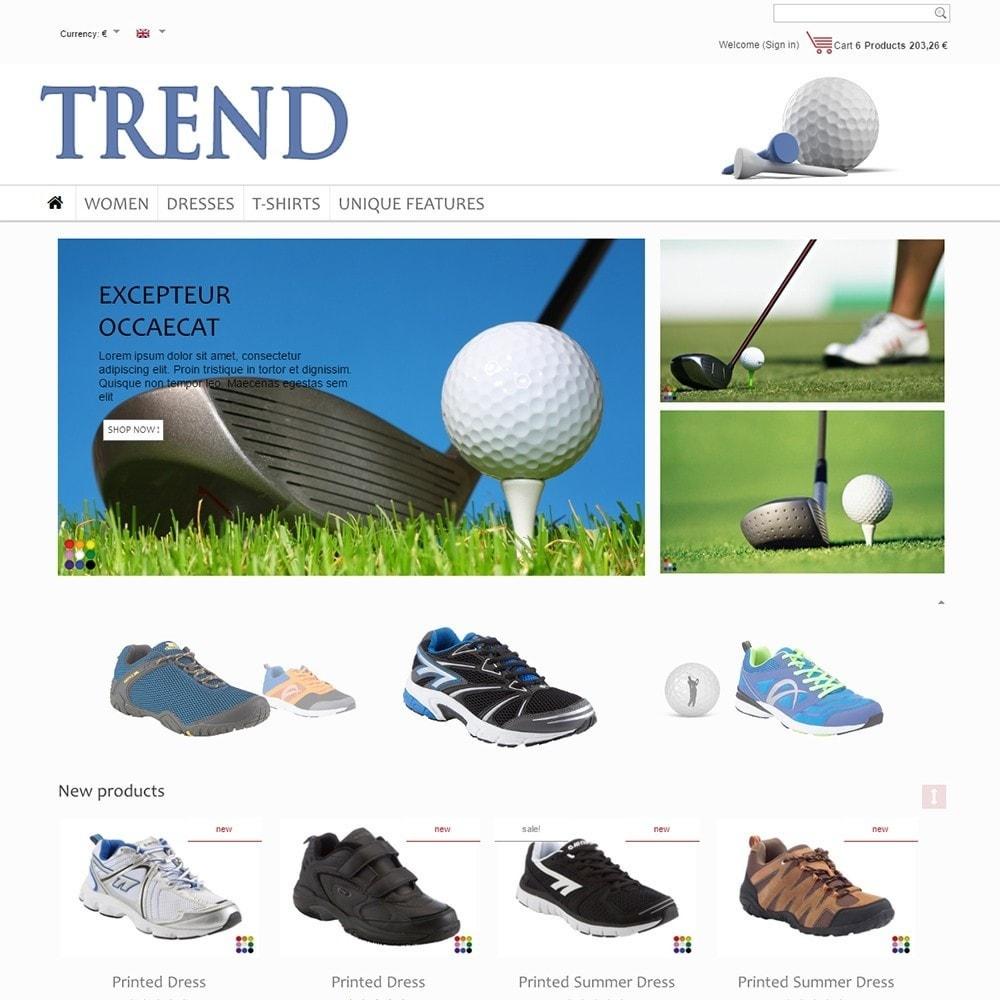 theme - Sport, Loisirs & Voyage - Trend - 2