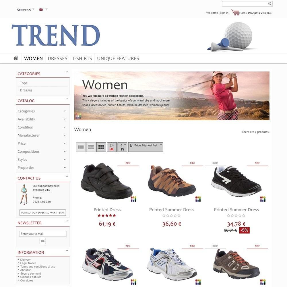 theme - Sport, Loisirs & Voyage - Trend - 3