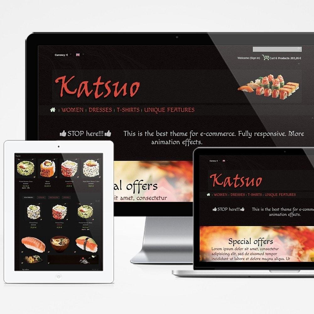 theme - Gastronomía y Restauración - Katsuo - 1