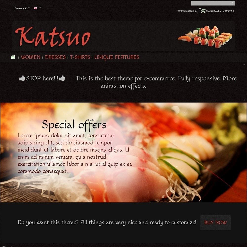 theme - Gastronomía y Restauración - Katsuo - 3