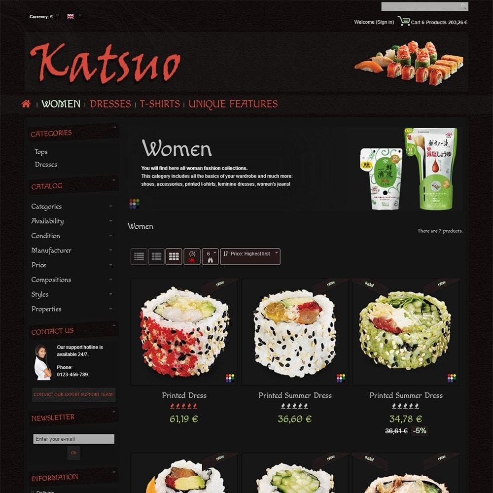 theme - Gastronomía y Restauración - Katsuo - 4