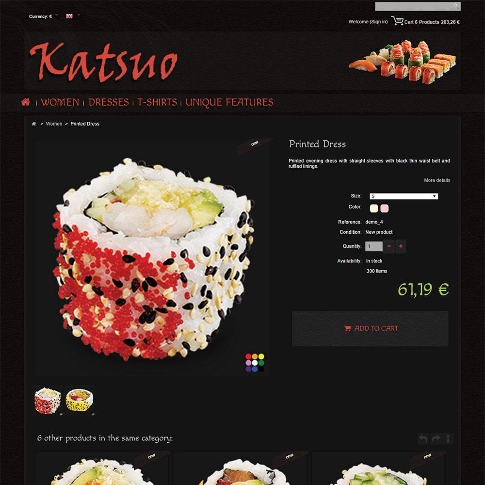 theme - Gastronomía y Restauración - Katsuo - 5