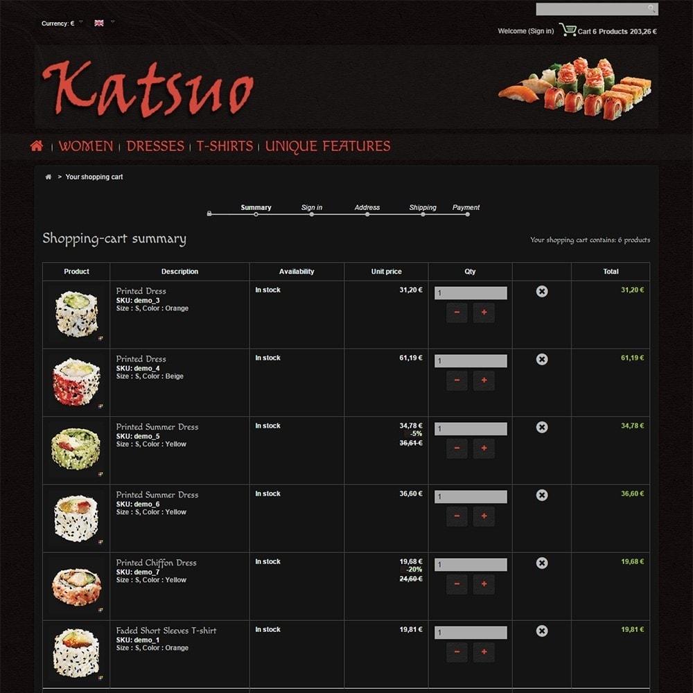theme - Gastronomía y Restauración - Katsuo - 6