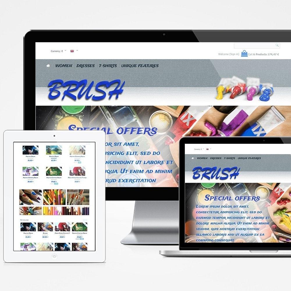 theme - Art & Culture - Brush - 1