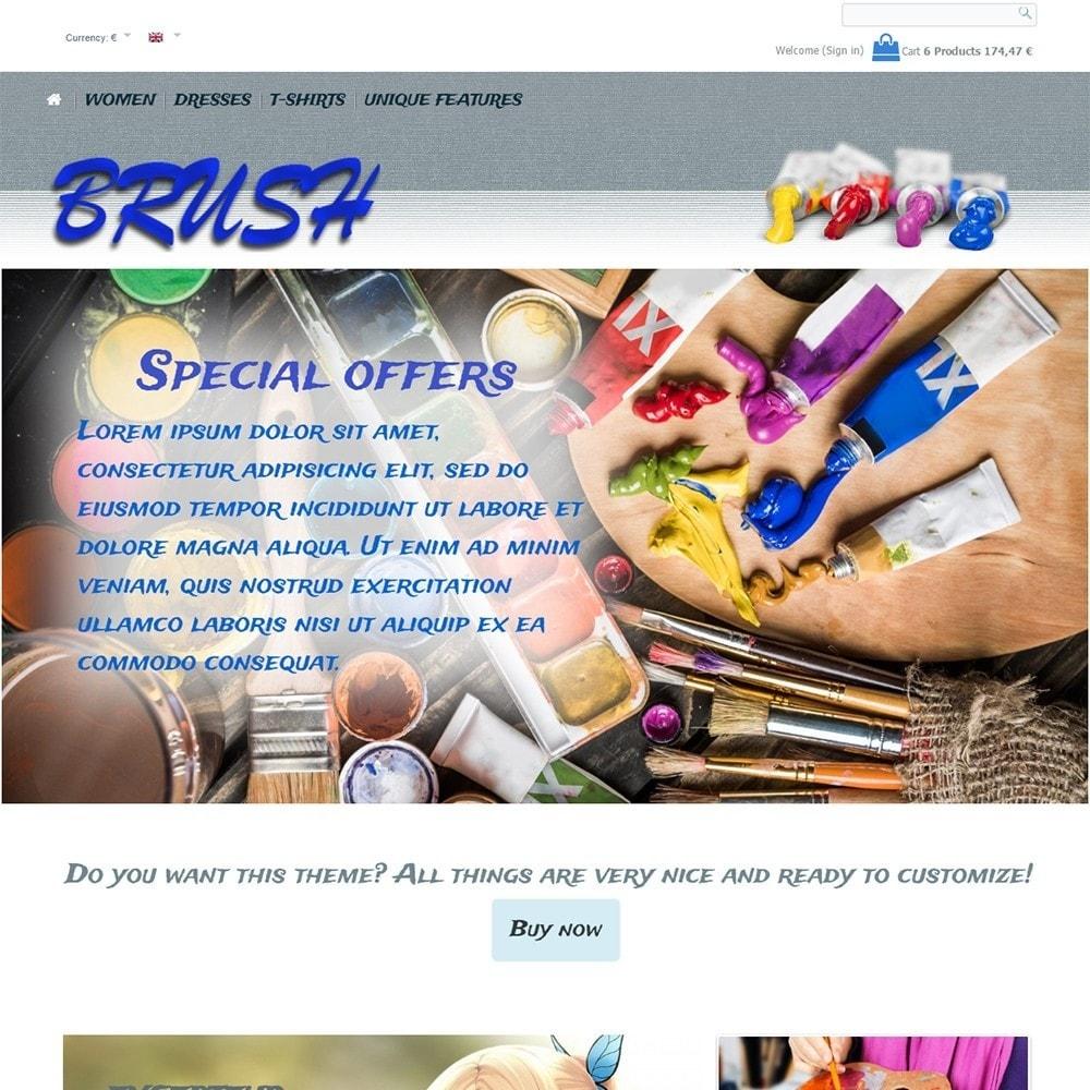 theme - Art & Culture - Brush - 3