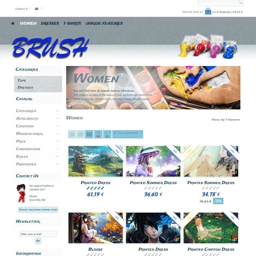 theme - Art & Culture - Brush - 4