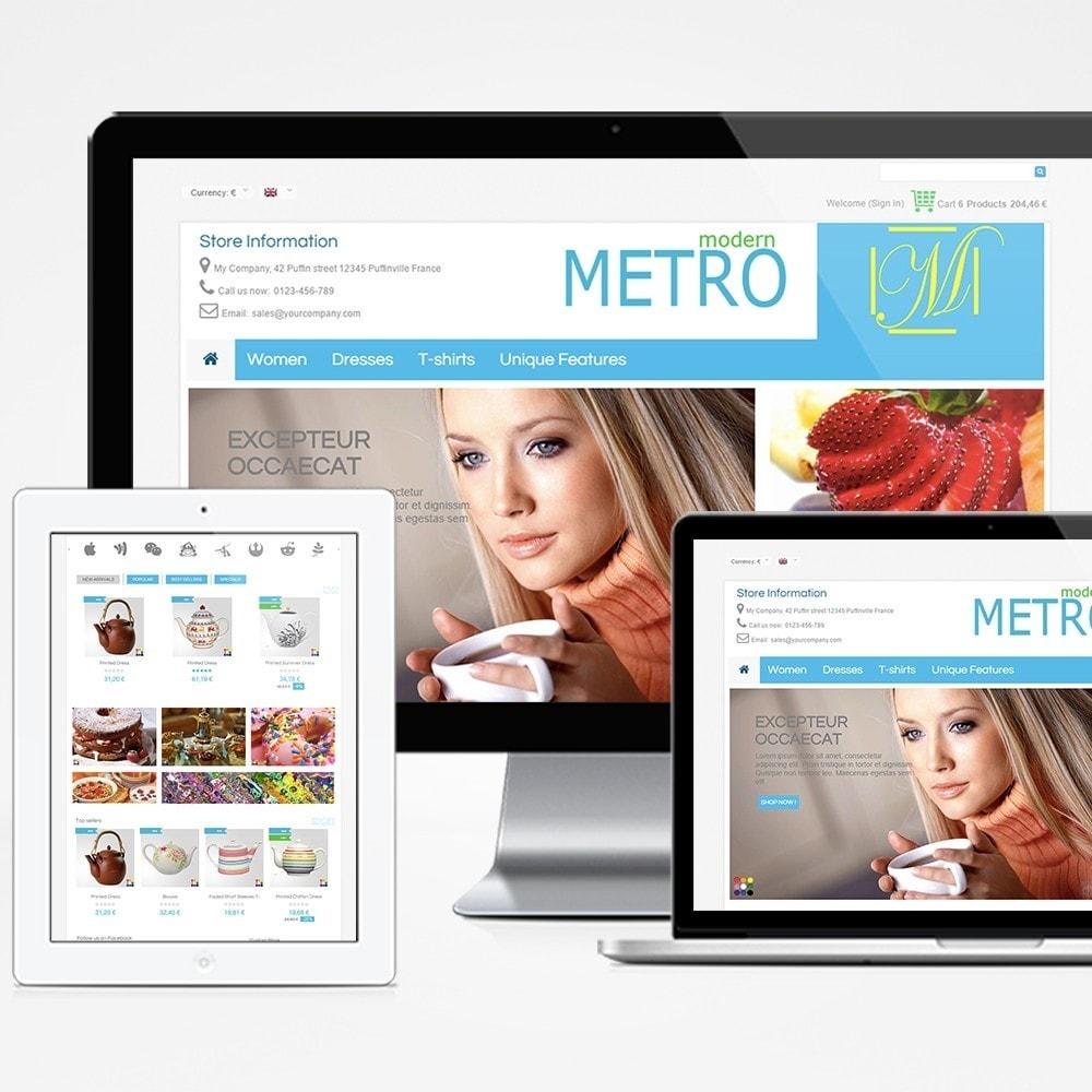 theme - Moda & Obuwie - Modern Metro - 1