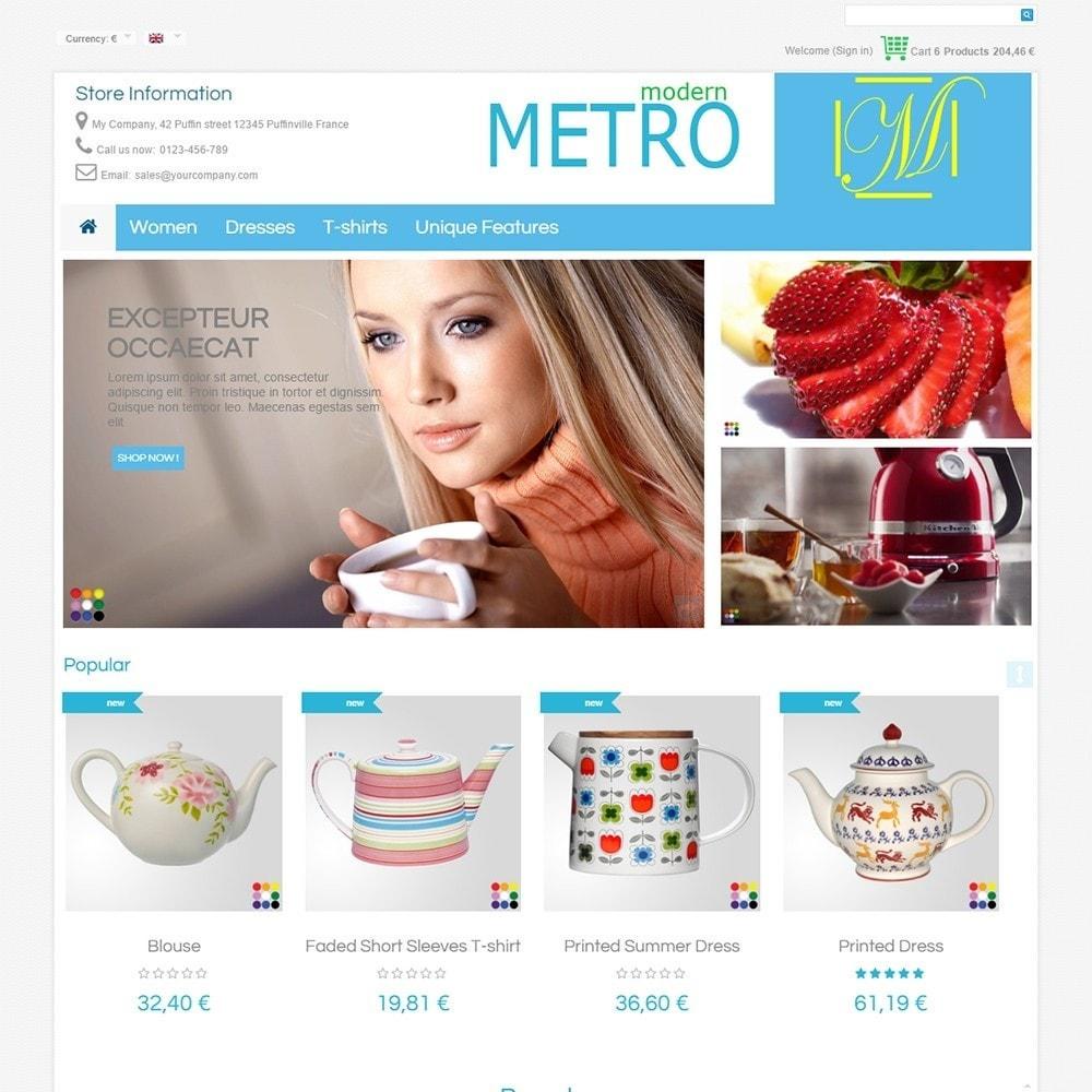 theme - Moda & Obuwie - Modern Metro - 3