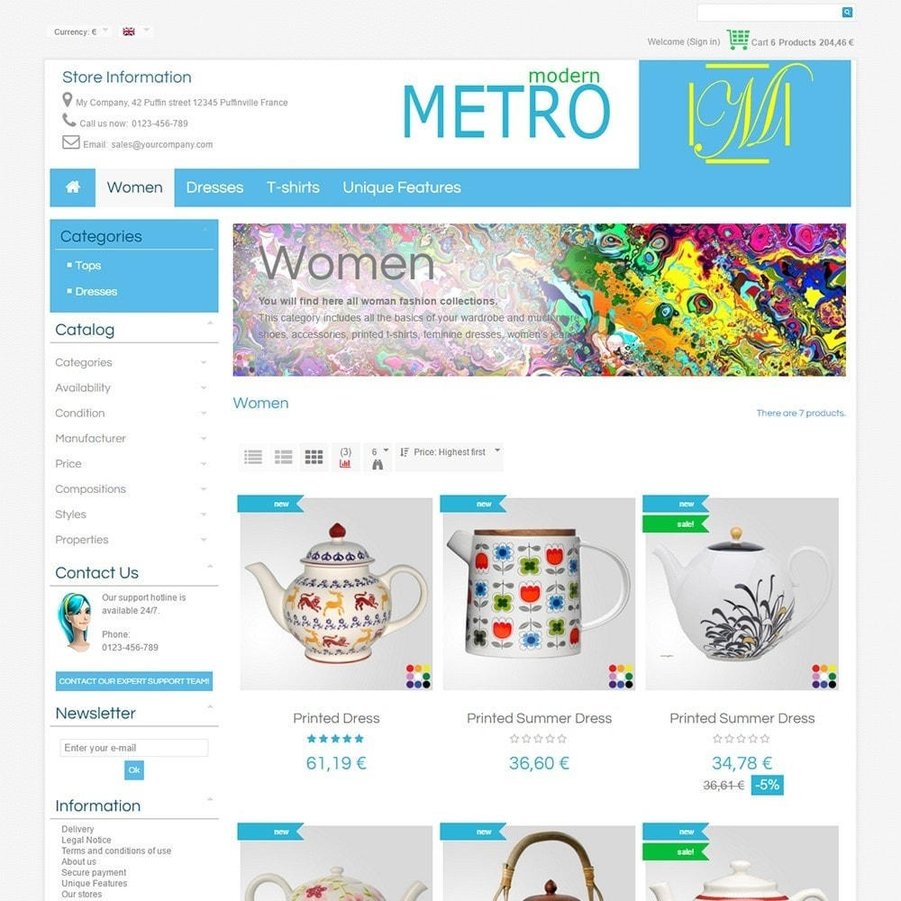 theme - Moda & Calzature - Modern Metro - 4