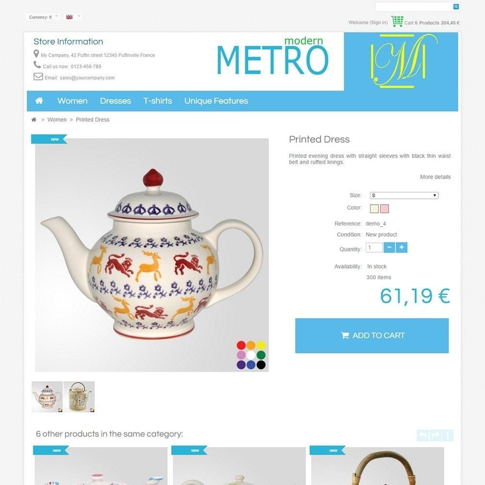 theme - Moda & Obuwie - Modern Metro - 5