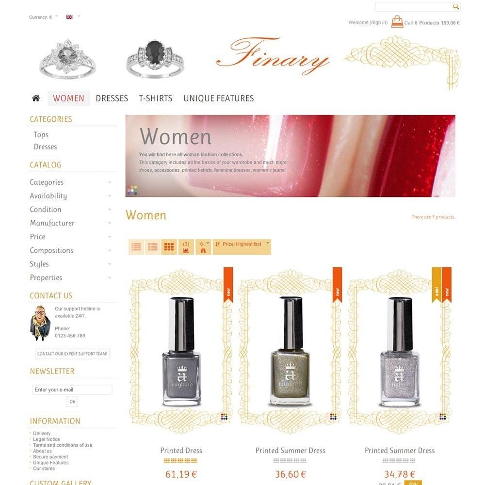 theme - Health & Beauty - Finary - 3