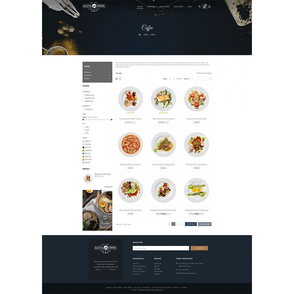 theme - Alimentation & Restauration - Restaurant - 4