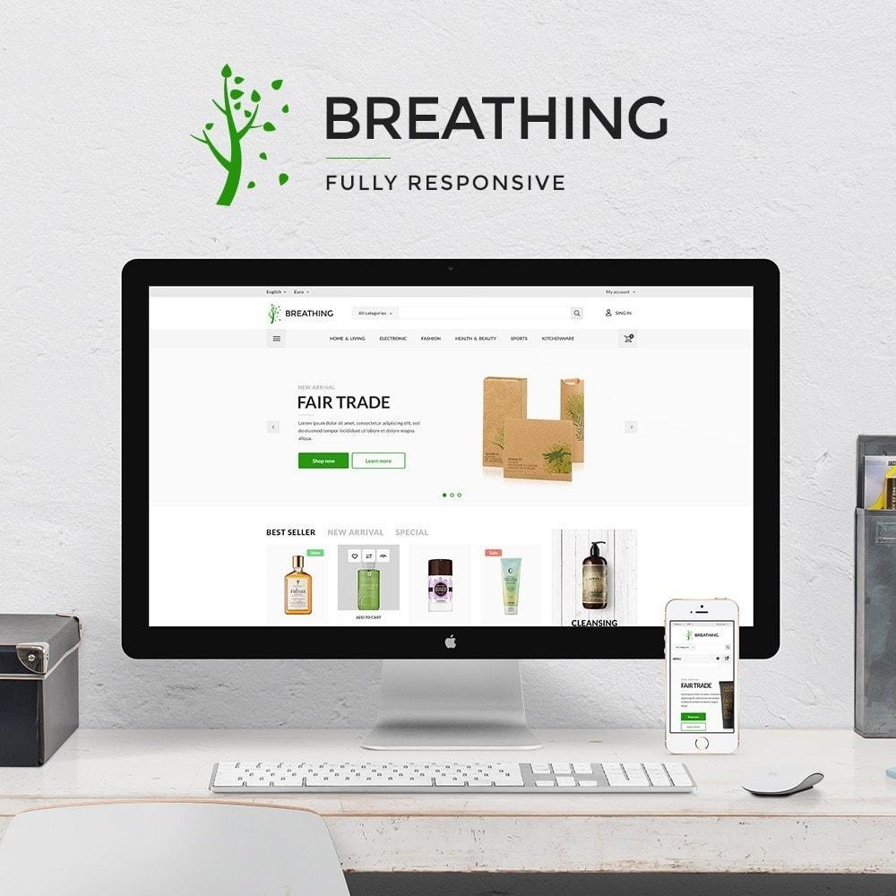 theme - Здоровье и красота - Breathing Cosmetics - 1
