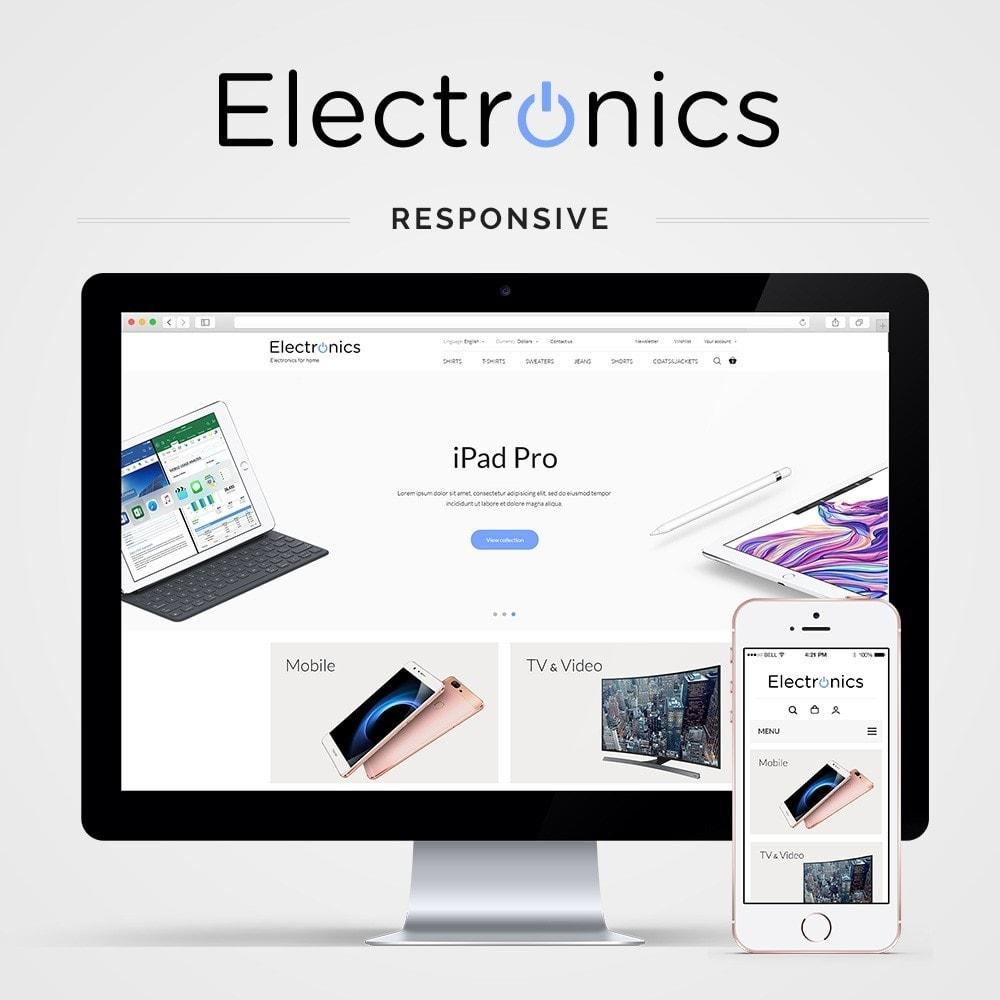 theme - Electrónica e High Tech - Electronics High-tech Shop - 1