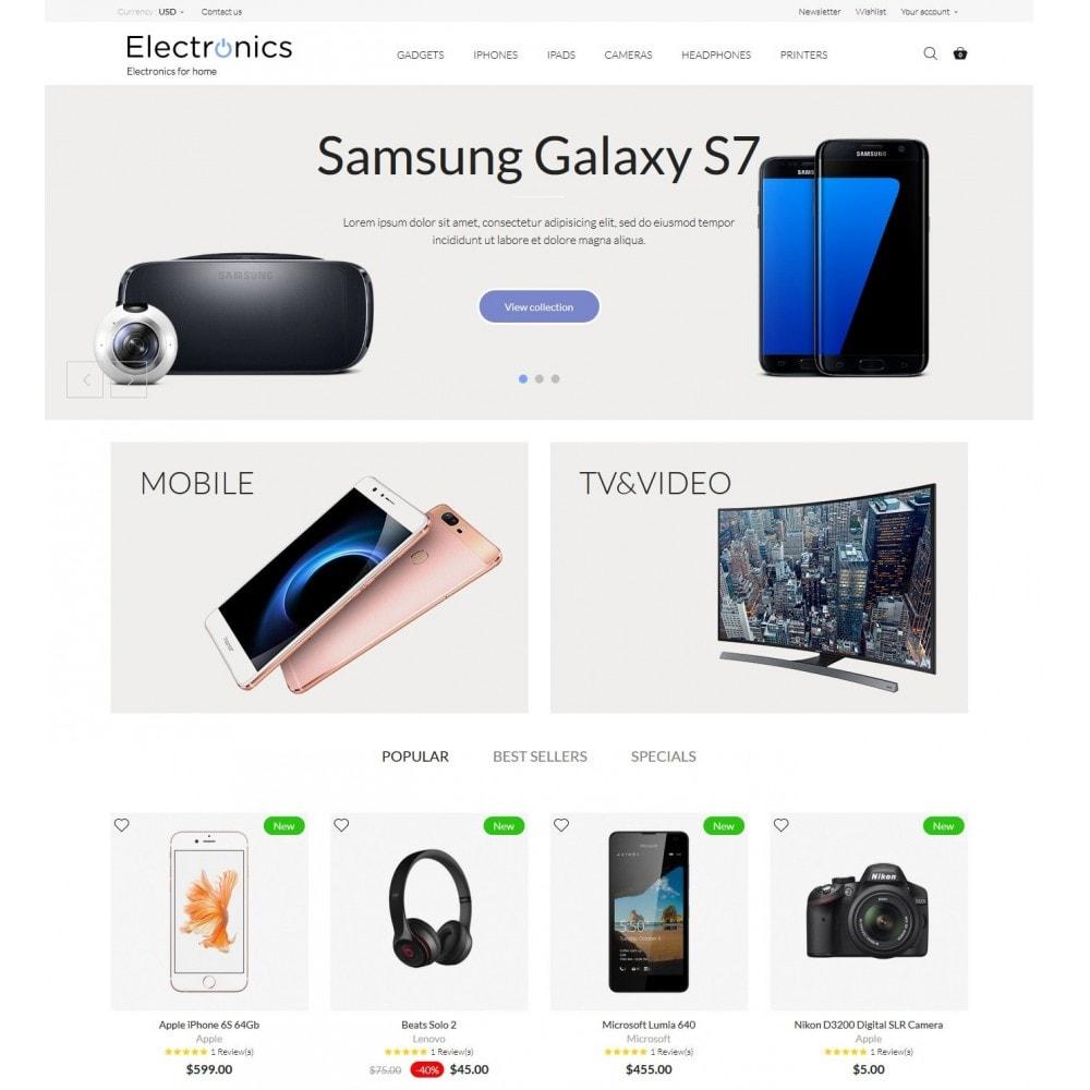 theme - Electrónica e High Tech - Electronics High-tech Shop - 2