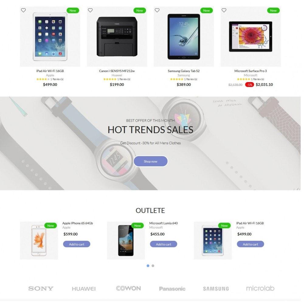 theme - Electrónica e High Tech - Electronics High-tech Shop - 3