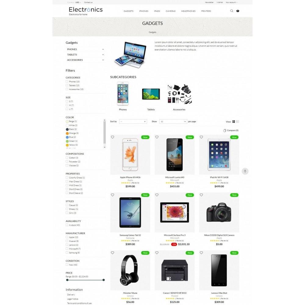 theme - Electrónica e High Tech - Electronics High-tech Shop - 6