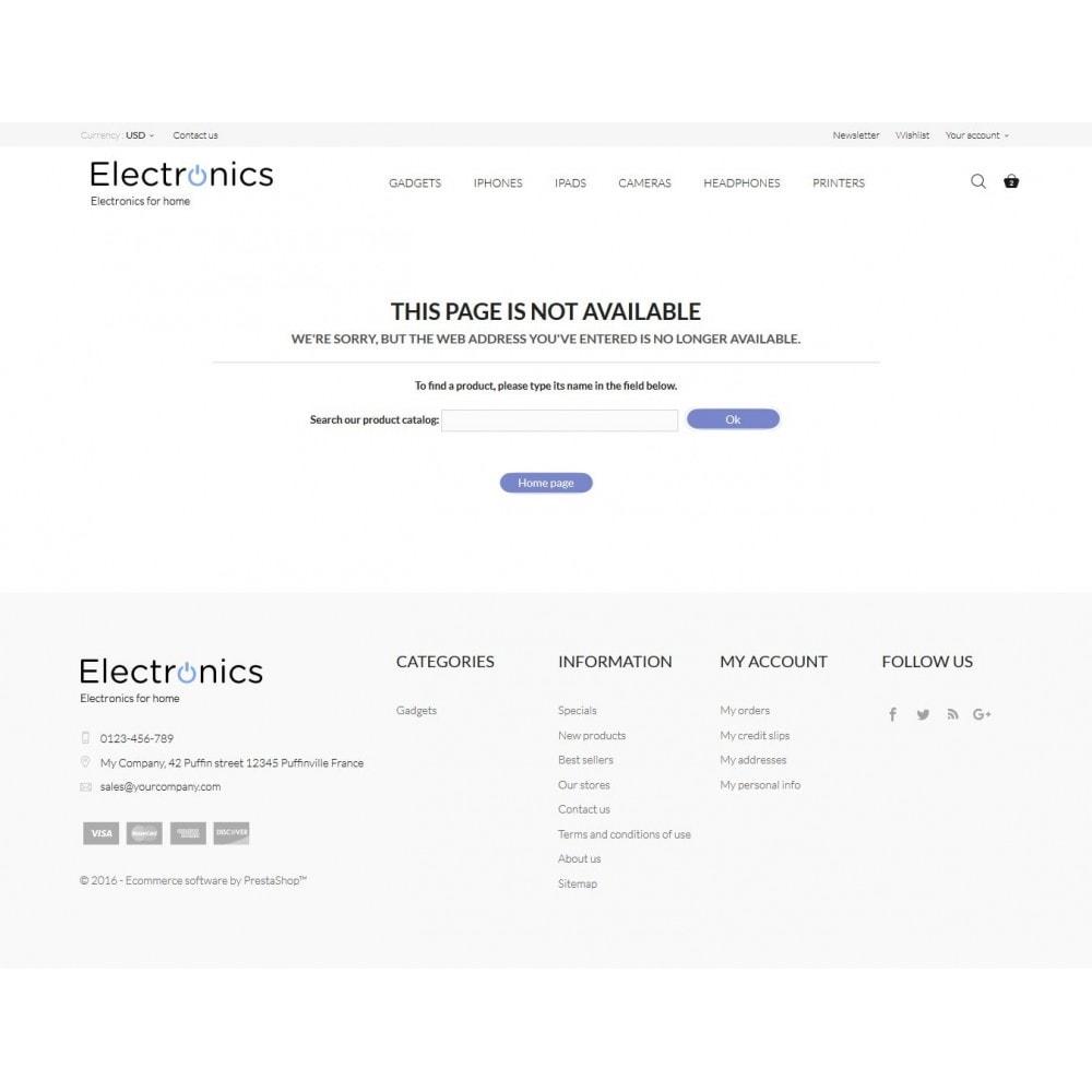 theme - Electrónica e High Tech - Electronics High-tech Shop - 9