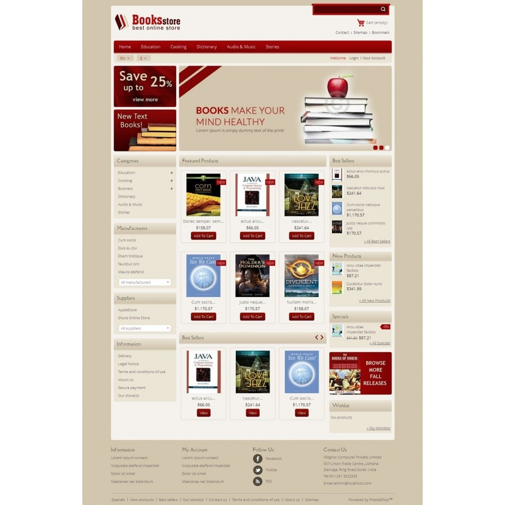 theme - Kunst & Cultuur - Online Book Store - 2