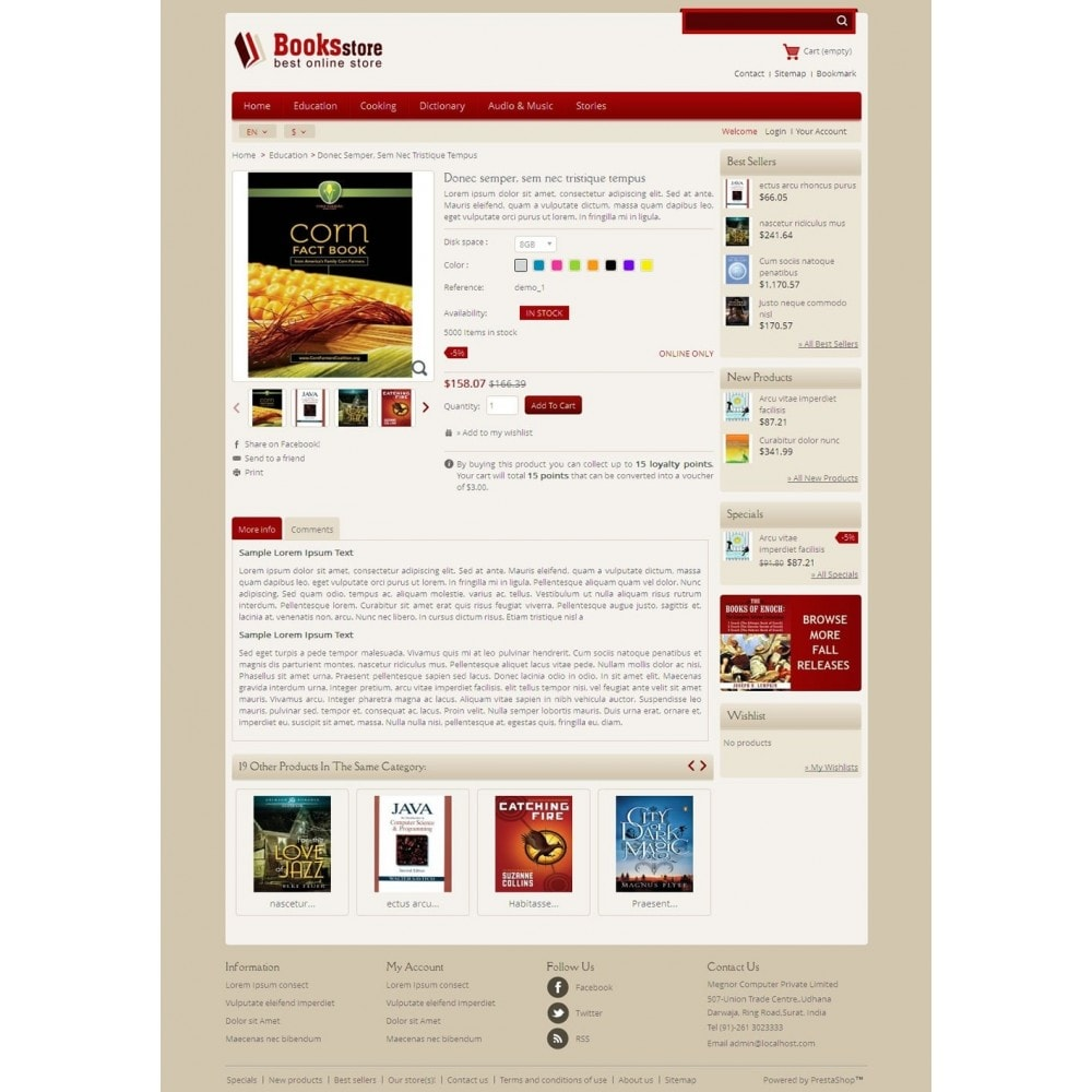 theme - Kunst & Cultuur - Online Book Store - 4