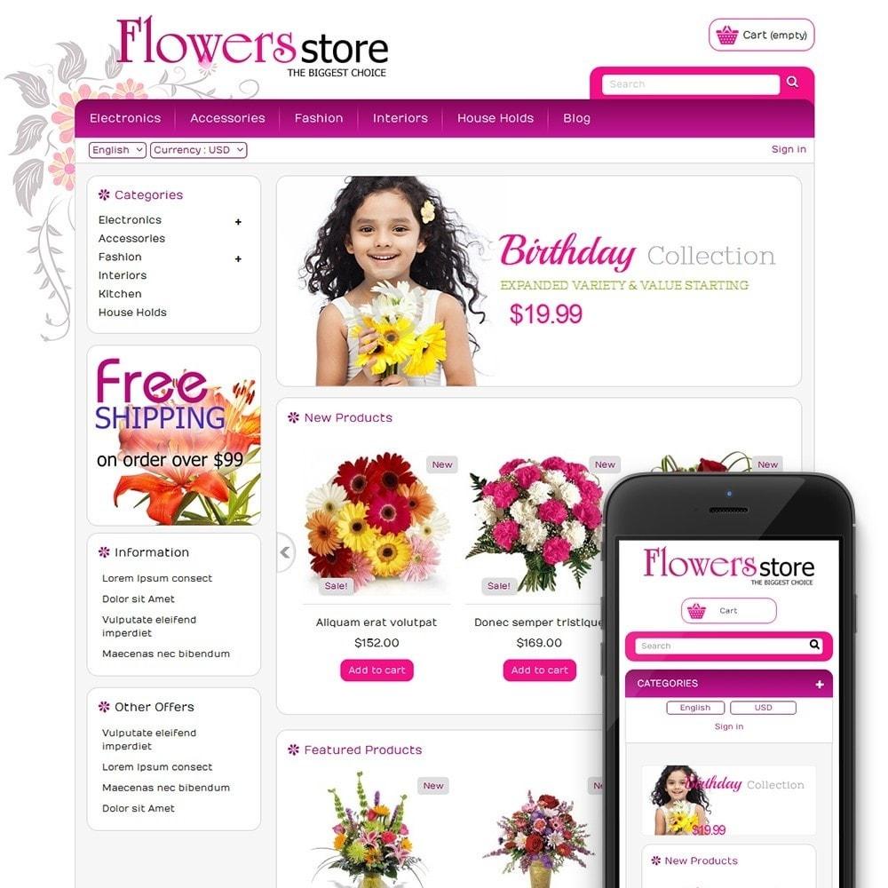theme - Cadeaux, Fleurs et Fêtes - Biggest Flower Store - 1