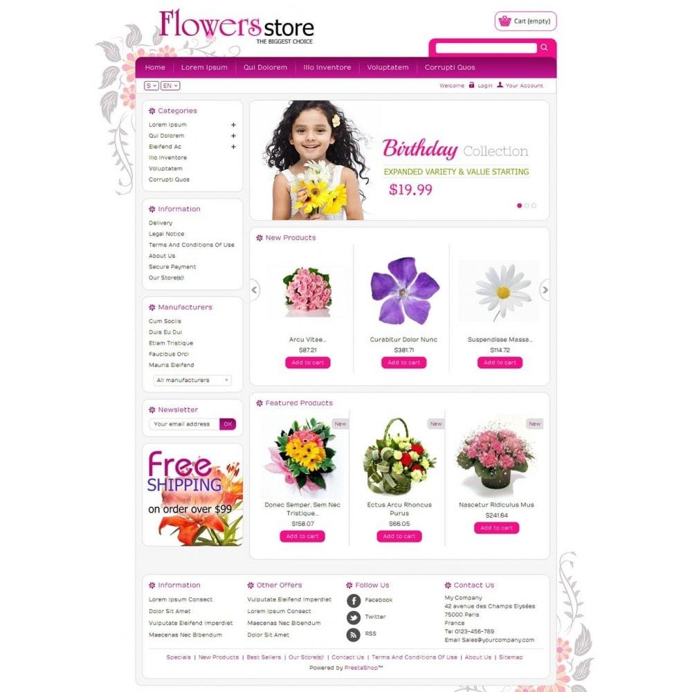 theme - Cadeaux, Fleurs et Fêtes - Biggest Flower Store - 2