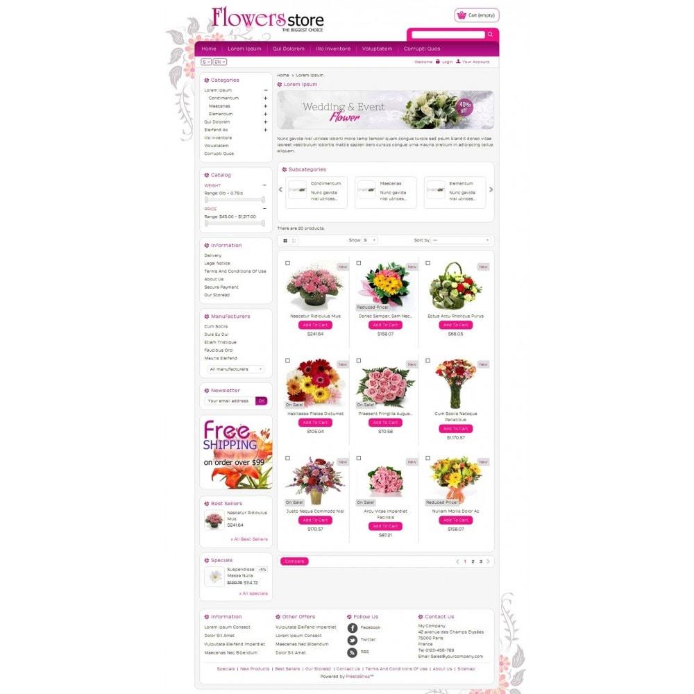 theme - Cadeaux, Fleurs et Fêtes - Biggest Flower Store - 3