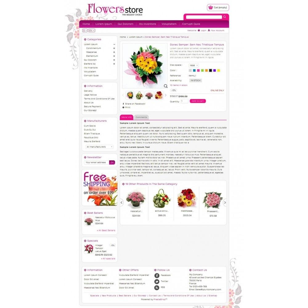 theme - Cadeaux, Fleurs et Fêtes - Biggest Flower Store - 4