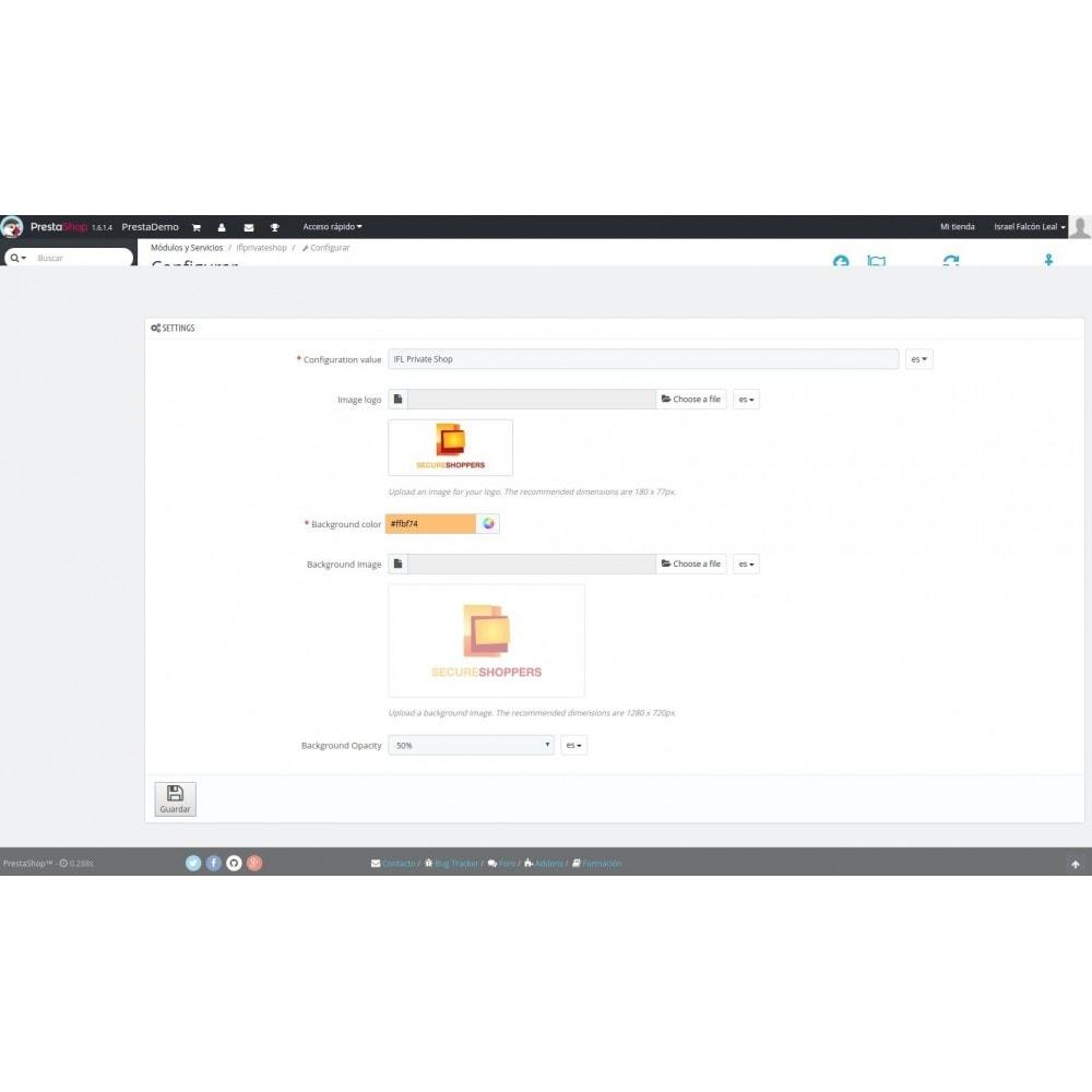 module - Ventas Privadas y Ventas Flash - IFL Private Shop - 2