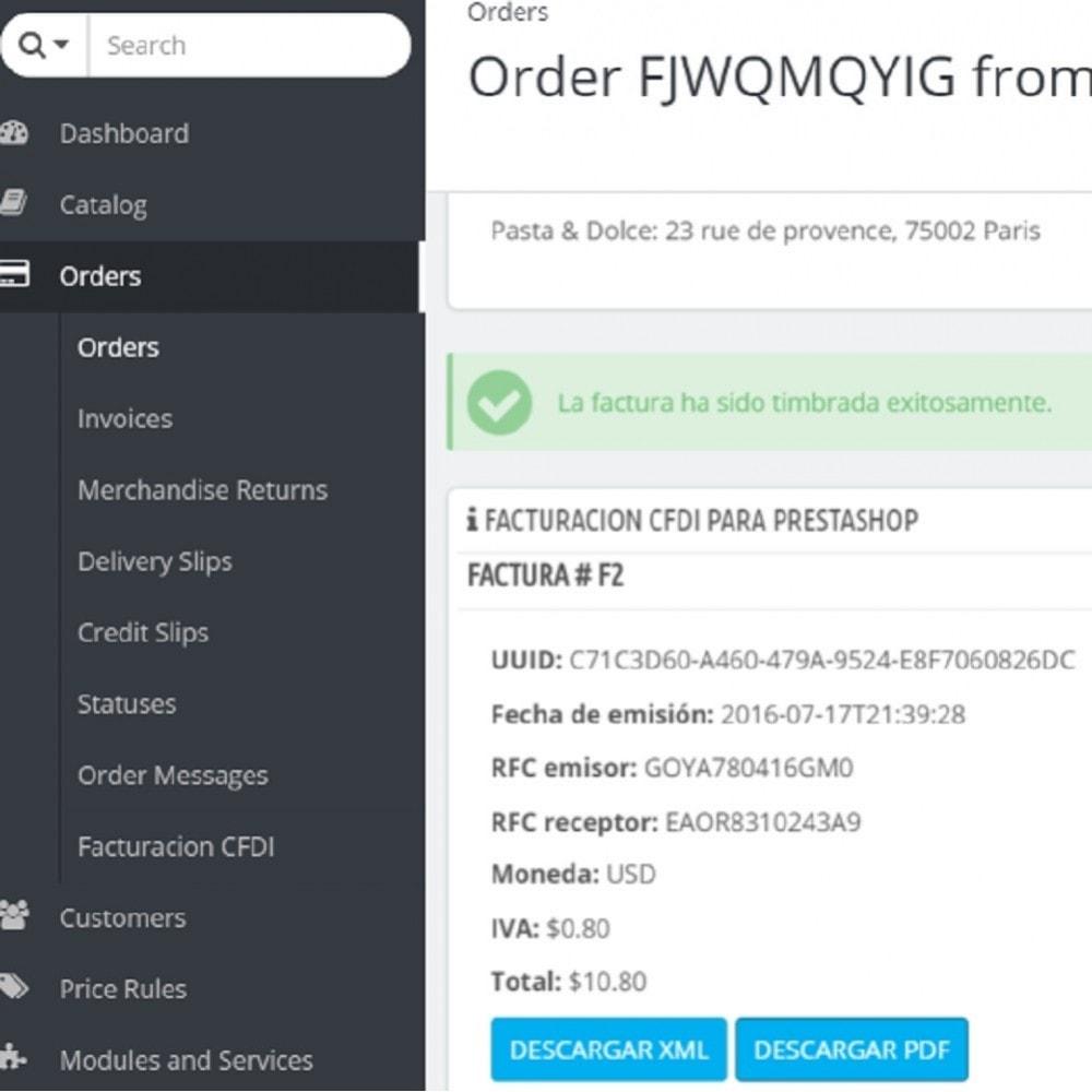 module - Księgowość & Fakturowania - Electronic CFDI Invoice for Mexico - 1
