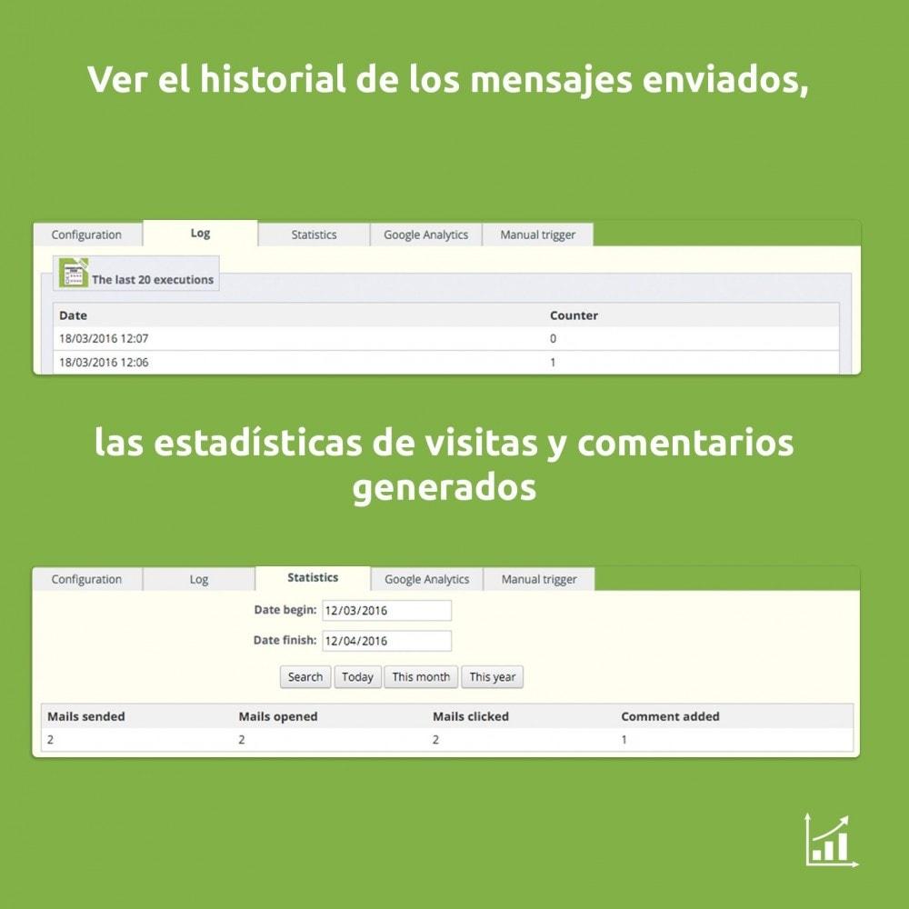 module - Comentarios de clientes - Comentarios, notas y opiniones después de la compra - 5