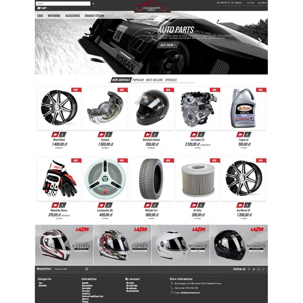 theme - Automotive & Cars - Car and Moto Parts - 2