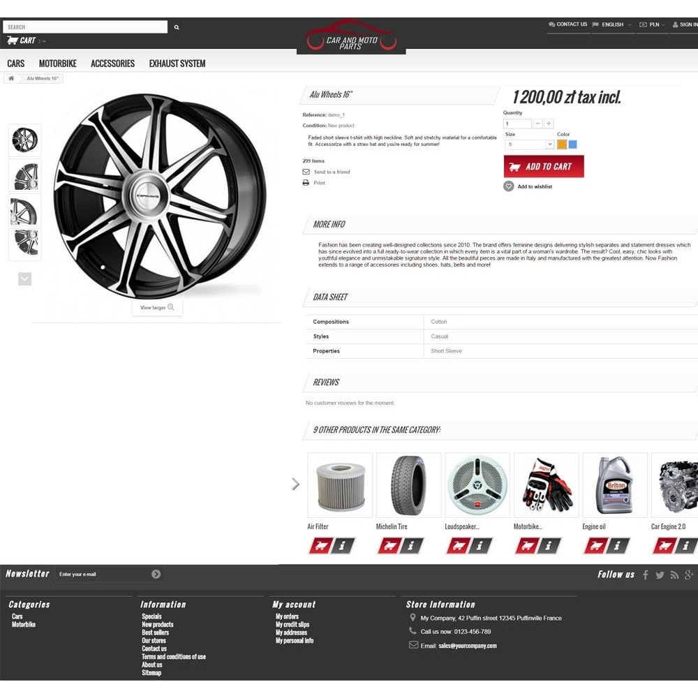 theme - Automotive & Cars - Car and Moto Parts - 3