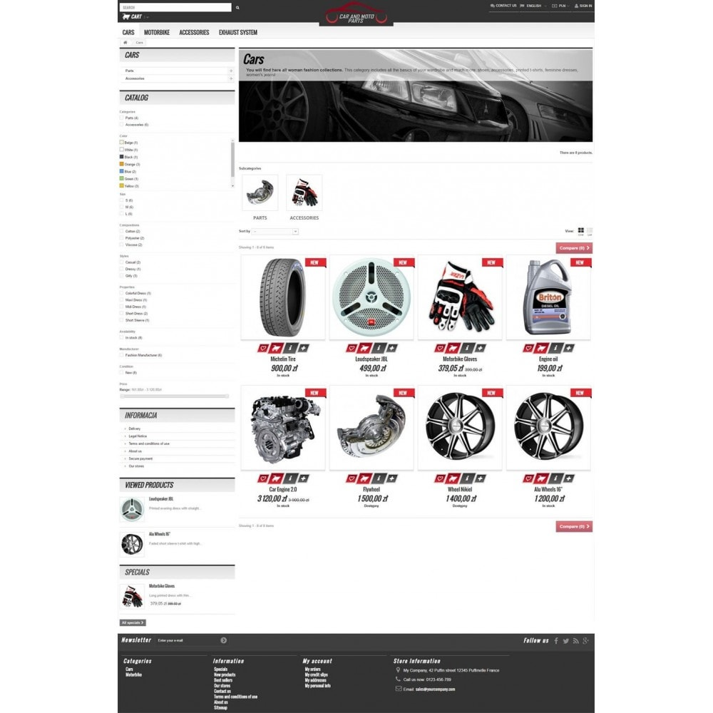 theme - Automotive & Cars - Car and Moto Parts - 4