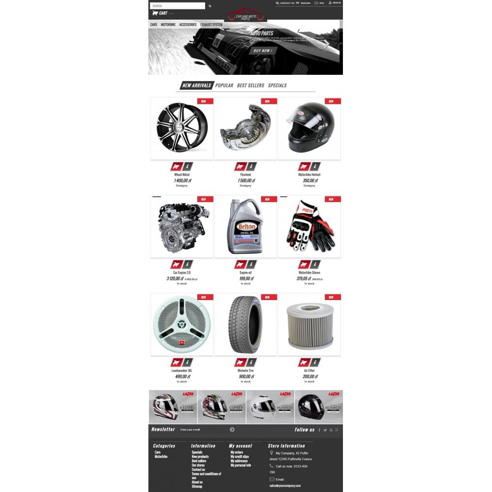 theme - Automotive & Cars - Car and Moto Parts - 6