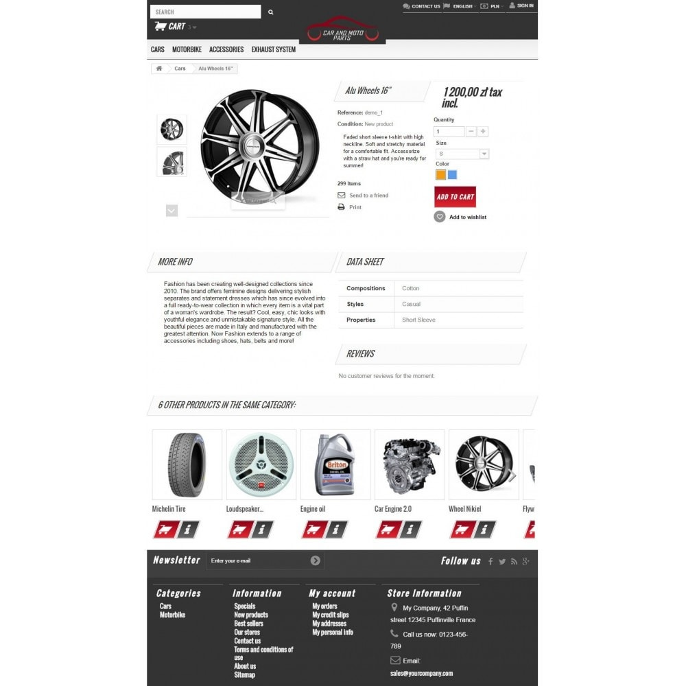 theme - Automotive & Cars - Car and Moto Parts - 7