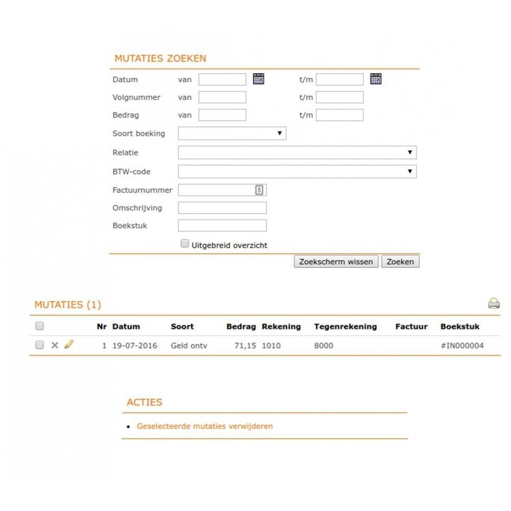 module - Contabilità & Fatturazione - Unofficial e-Boekhouden.nl module - 10
