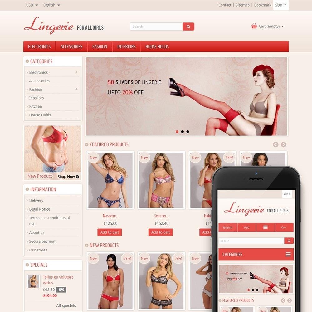 theme - Lingerie & Adult - Lingerie Online Store - 1