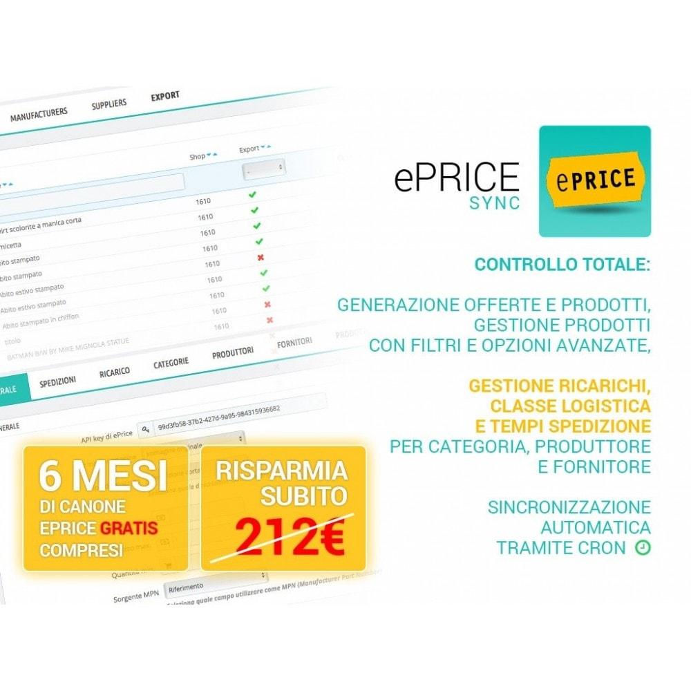 module - Marketplace - Sincronizza PrestaShop con il marketplace di ePrice - 1