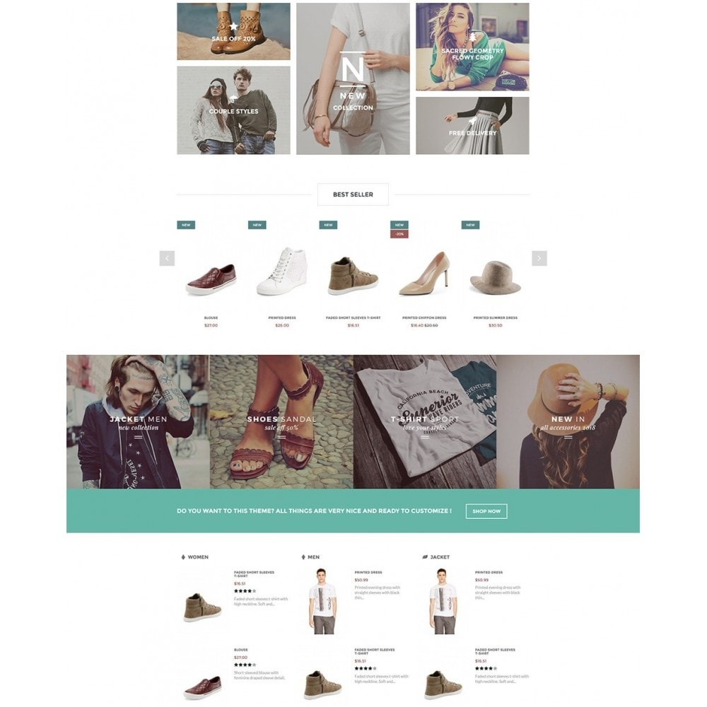 theme - Moda & Calzature - Olantek Fashion & Shoes - 3