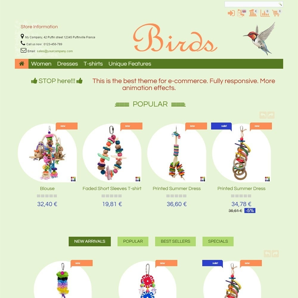 theme - Tier - Birds - 2