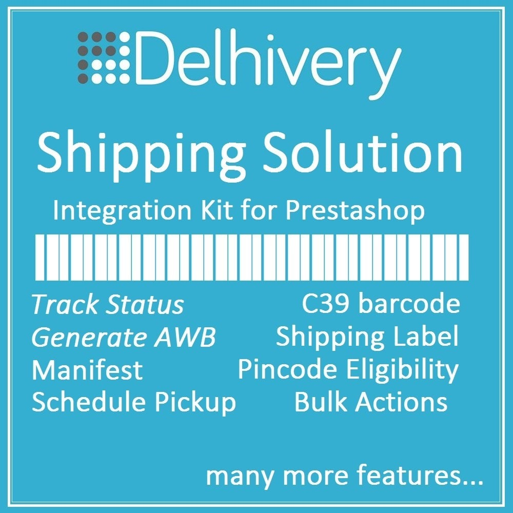 module - Отслеживание заказа - Delhivery courier shipping and tracking solution - 1