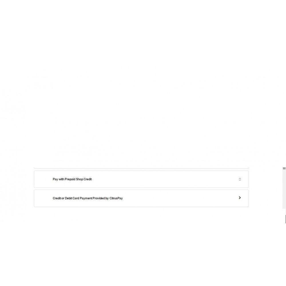 module - Paiement par Carte ou Wallet - CitrusPay - 1