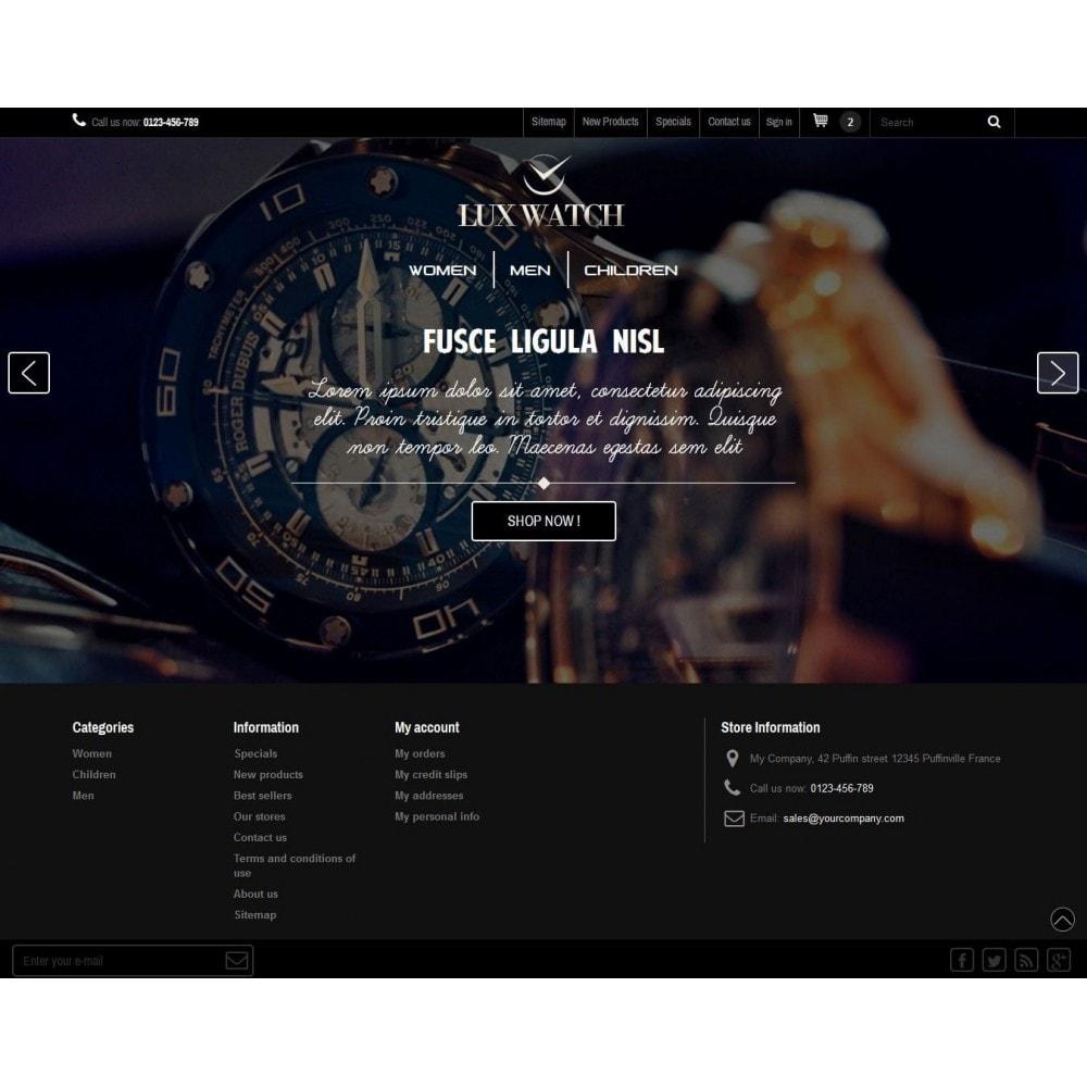 theme - Biżuteria & Akcesoria - Lux Watch - 1