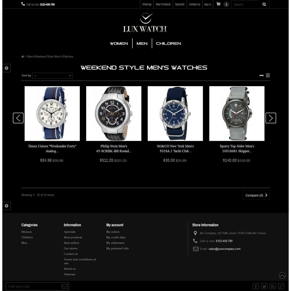 theme - Biżuteria & Akcesoria - Lux Watch - 2