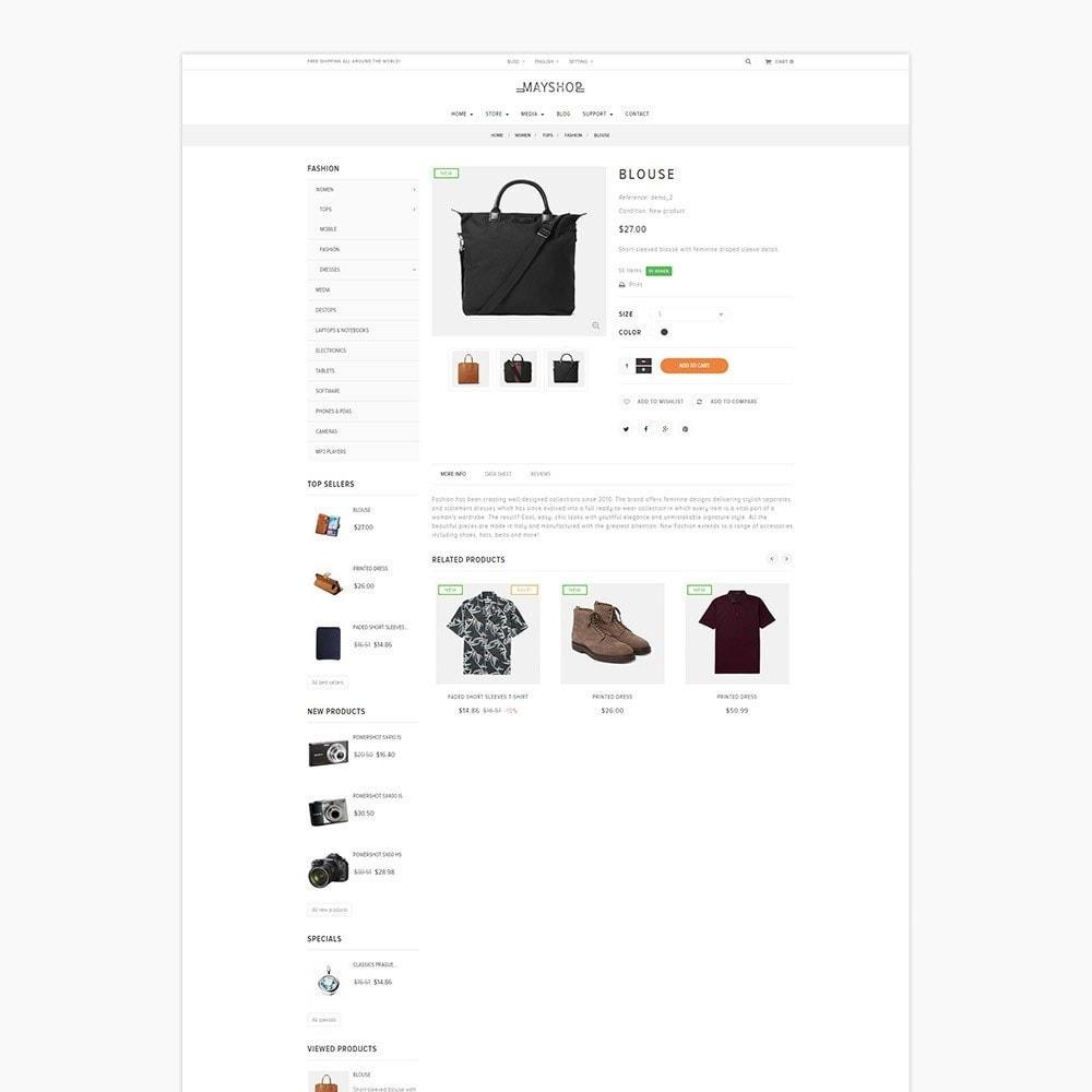 theme - Мода и обувь - Leo May Shop - 4