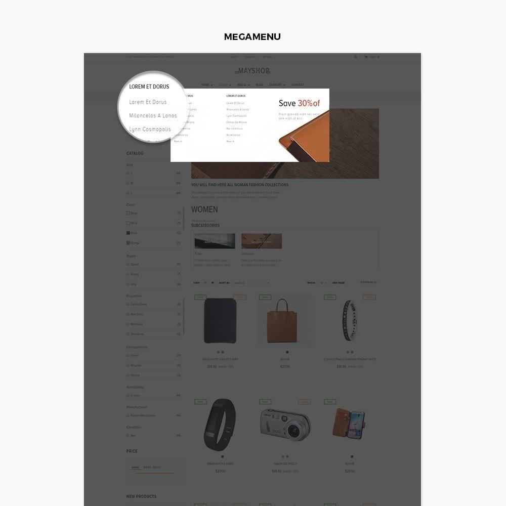 theme - Мода и обувь - Leo May Shop - 5