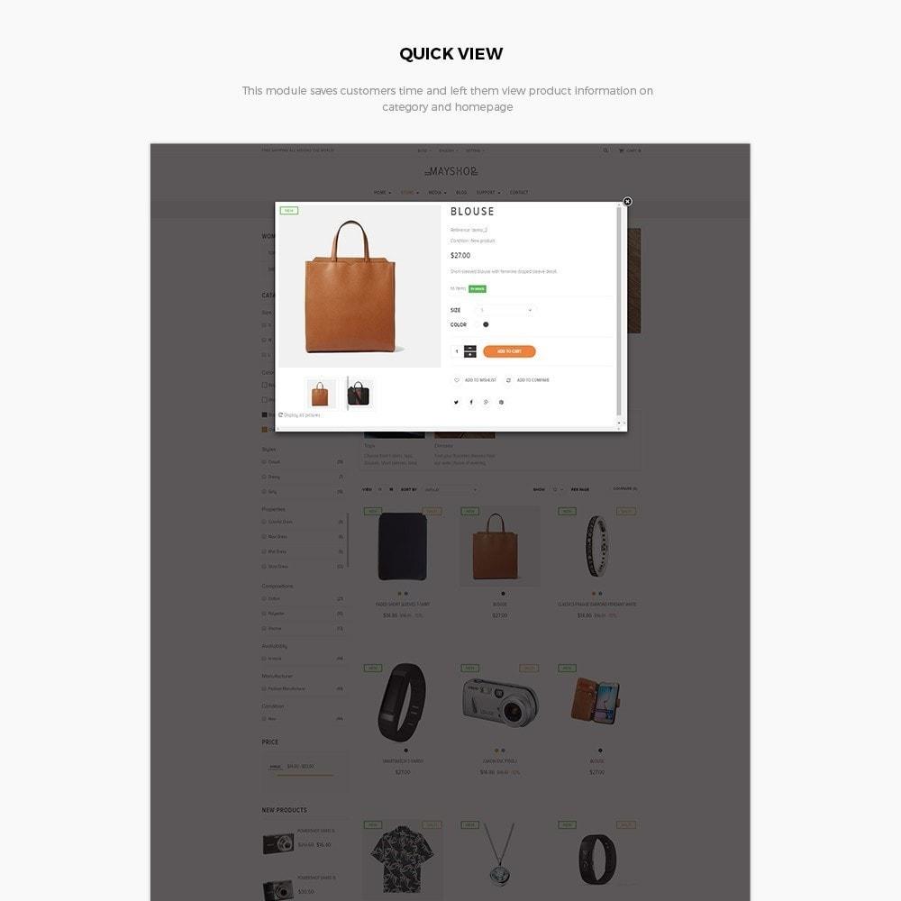 theme - Мода и обувь - Leo May Shop - 6